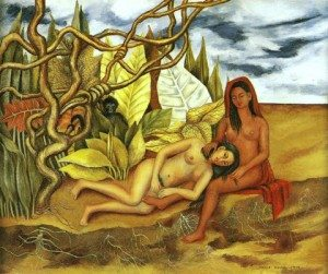 frida-kahlo-two-nudes-in-the-forest