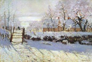 La Gazza (la Pie) è un dipinto di Claude Monet